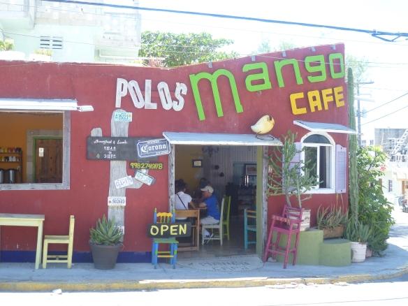 mango cafe isla mujeres